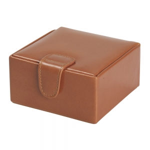 Medium Brown Stud Box