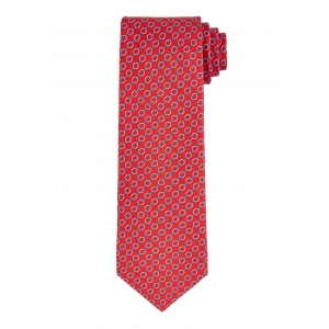 Red and Blue Chain Tie