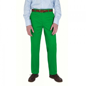 Emerald Cotton Trousers