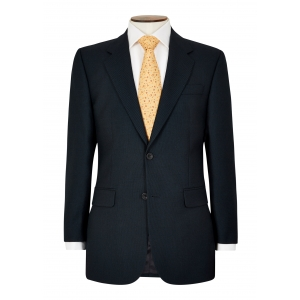 Classic Fit Navy Birdseye Suit