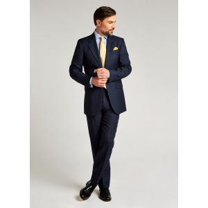 Classic Fit Blue Pic and Pic Suit