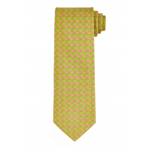 Green Flamingo Silk Tie