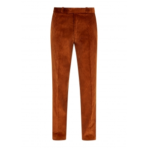 Cinnamon Brown Made To Order Corduroy Trousers