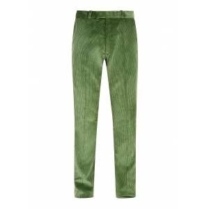 Sage Green Made To Order Corduroy Trousers