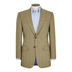 Barleycorn/Sky Window Pane Jacket