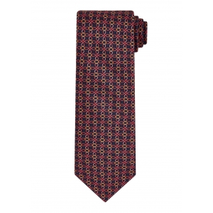 Navy Link and Square Tie