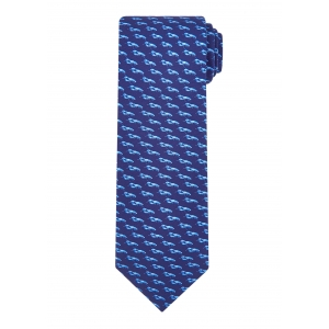 Navy Lobster Tie