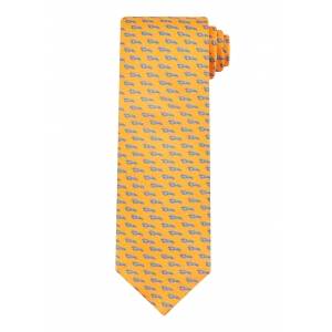 Yellow Lobster Tie