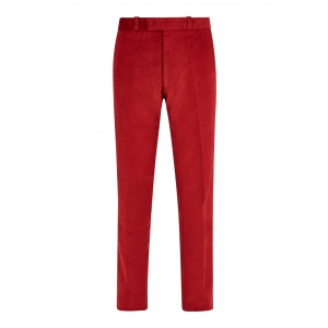 Persian Red Made To Order Moleskin Trousers