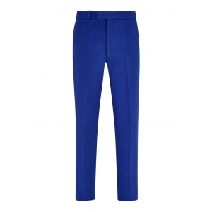 Royal Blue Made To Order Moleskin Trousers