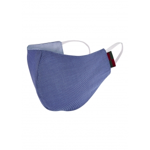 Plain Blue Mask