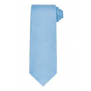 Plain Sky Blue Silk Tie
