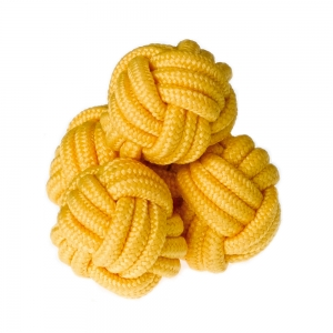 Yellow Silk Knots