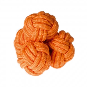 Orange Silk Knot