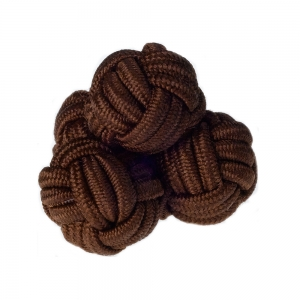 Brown Silk Knots