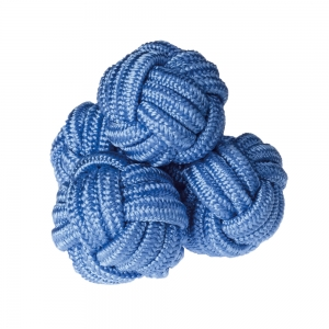 Mid Blue Silk Knots