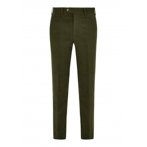 Dark Olive Moleskin Trousers