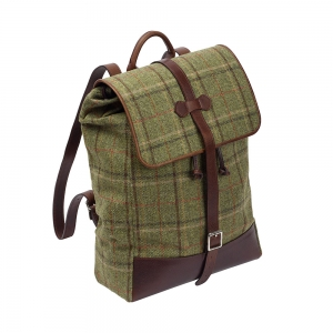 Green Tweed Rucksack