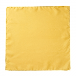 Silk Pocket Square Gold