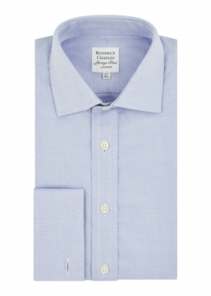Blue Oxford Cotton Shirt