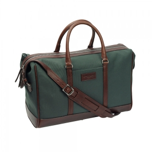 Green Canvas Overnight Bag