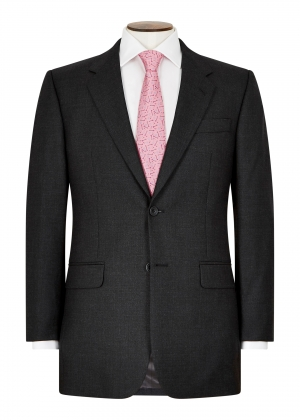 Classic Fit Charcoal Grey Pic and Pic Suit