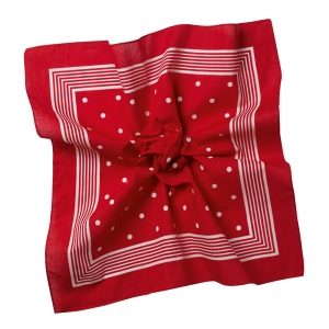 Bandana Red/White