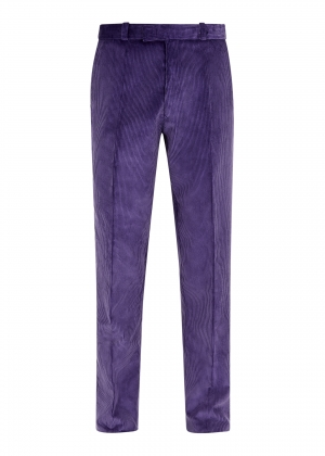 Purple Heather Made To Order Corduroy Trousers