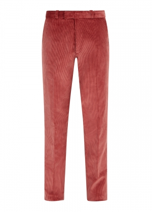 Pink Made To Order Corduroy Trousers