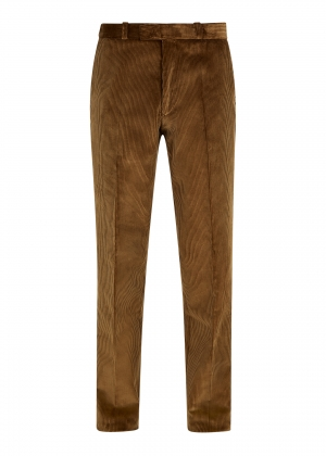 Tan Made To Order Corduroy Trousers
