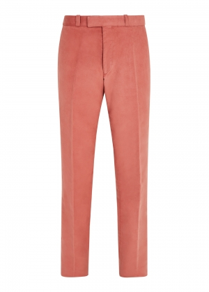 Pink Made To Order Moleskin Trousers