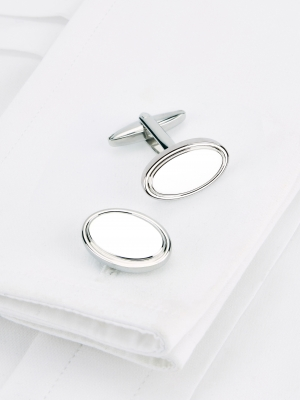 Traditional Oval Cufflinks