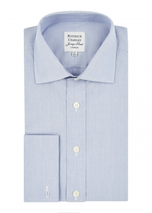 Pale Blue End on End Shirt