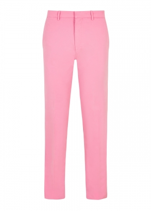 Pink Peached Cotton Trousers