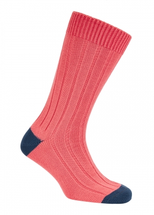 Rose and Jean Cotton Heel And Toe Socks