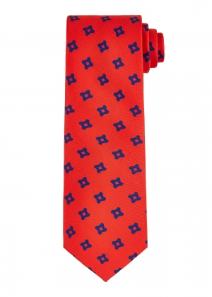 Red Square Tie