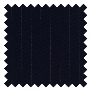 Fine Navy Pin Stripe Made To Order
