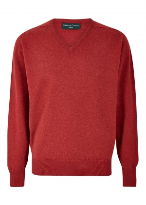 Poppy Lambswool V Neck Sweater