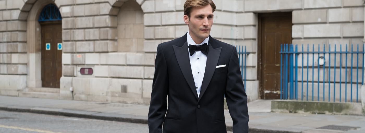 Men's black tie dress shirts
