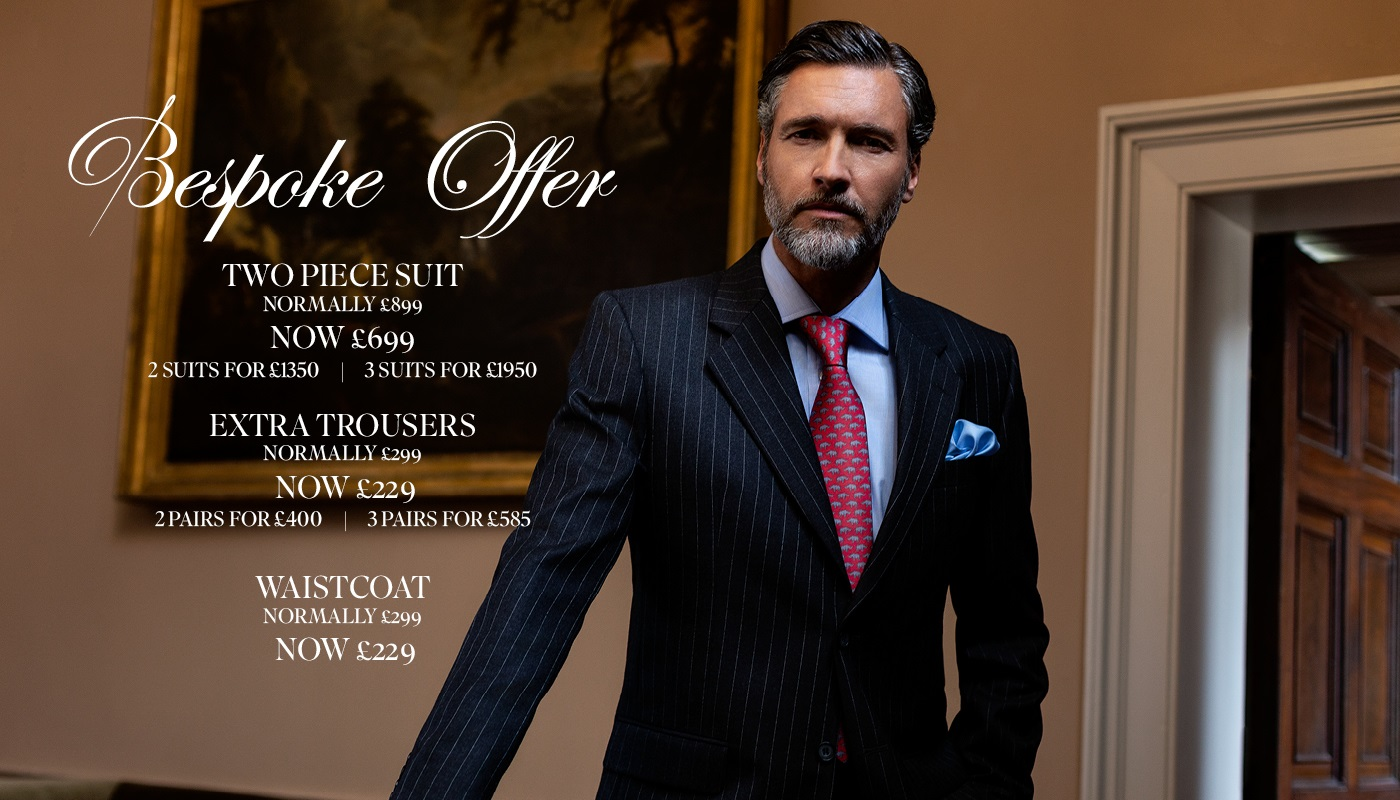 London Made to order suits